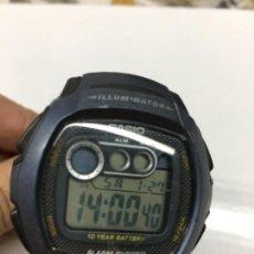 Relojes - Casio: RELOJ CASIO ILUMINADOR W-210 MEDIDA 41 DE ANCHO COMO NUEVO. Lote 110713903