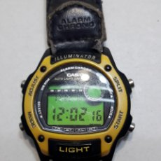 Relojes - Casio: RELOJ ANTIGUO CASIO ILUMINATOR ORIGINAL. Lote 119572772