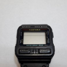 Relojes - Casio: RELOJ ANTIGUO CASIO DATA BANK ORIGINAL. Lote 119573308