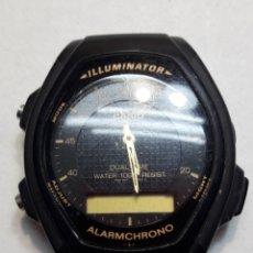 Relojes - Casio: RELOJ ANTIGUO CASIO ILUMINATOR ORIGINAL. Lote 119573592