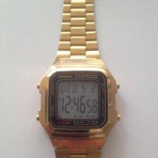 Relojes - Casio: RELOJ CASIO DORADO. Lote 189835273