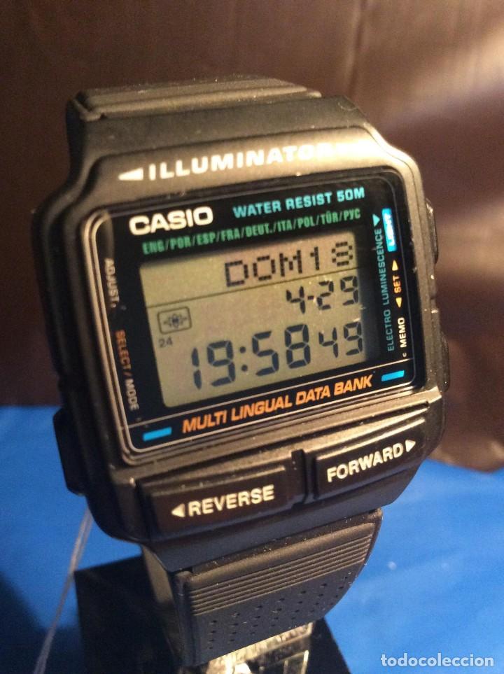 RELOJ CASIO DB 59 ¡¡ DATA - BANK !! VINTAGE ¡¡NUEVO!! (VER FOTOS) (Relojes - Relojes Actuales - Casio)