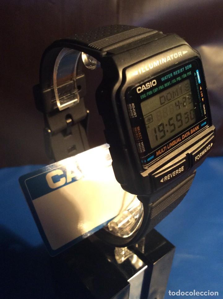 Relojes - Casio: RELOJ CASIO DB 59 ¡¡ DATA - BANK !! VINTAGE ¡¡NUEVO!! (VER FOTOS) - Foto 3 - 120034335