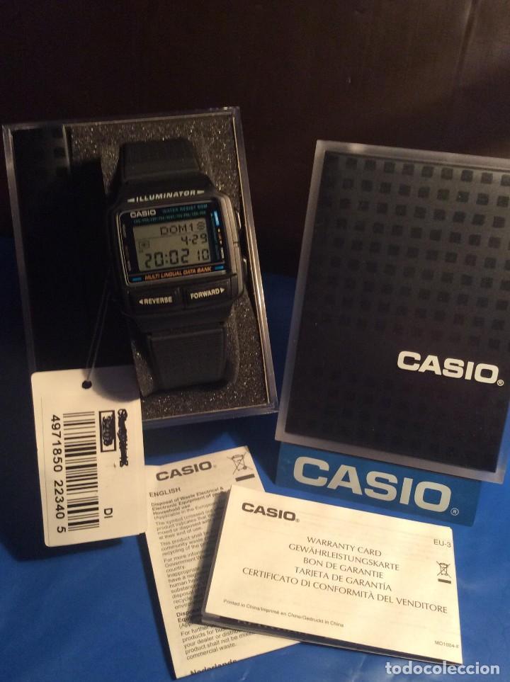 Relojes - Casio: RELOJ CASIO DB 59 ¡¡ DATA - BANK !! VINTAGE ¡¡NUEVO!! (VER FOTOS) - Foto 4 - 120034335