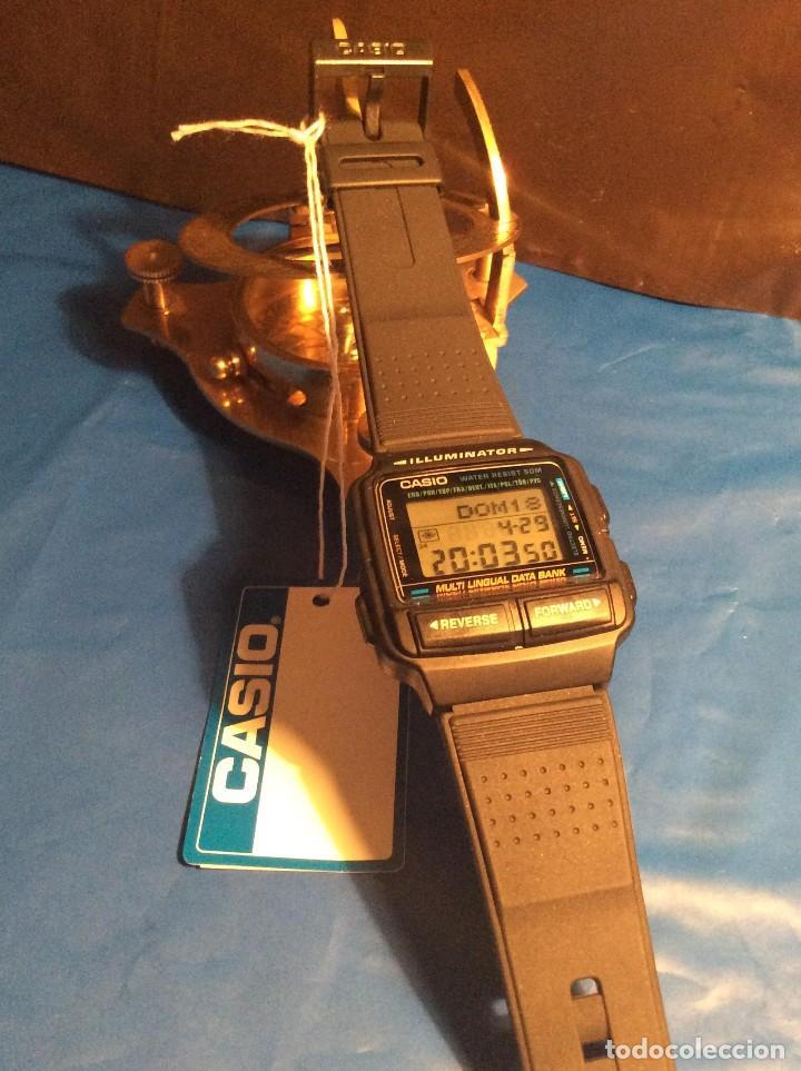 Relojes - Casio: RELOJ CASIO DB 59 ¡¡ DATA - BANK !! VINTAGE ¡¡NUEVO!! (VER FOTOS) - Foto 5 - 120034335