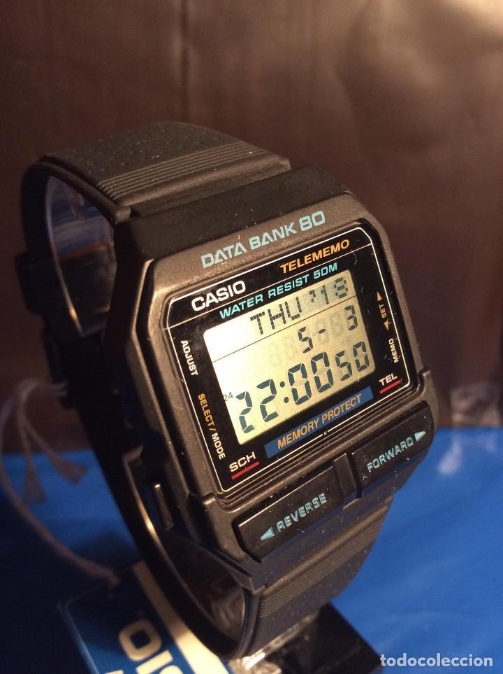 RELOJ CASIO DB 80 ¡¡ DATA - BANK !! VINTAGE ¡¡NUEVO!! (VER FOTOS) (Relojes - Relojes Actuales - Casio)