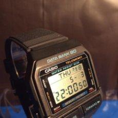 Relojes - Casio: RELOJ CASIO DB 80 ¡¡ DATA - BANK !! VINTAGE ¡¡NUEVO!! (VER FOTOS). Lote 120034719