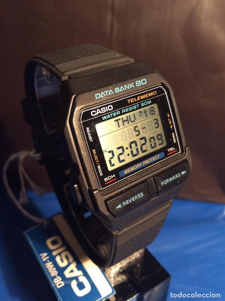 Relojes - Casio: RELOJ CASIO DB 80 ¡¡ DATA - BANK !! VINTAGE ¡¡NUEVO!! (VER FOTOS) - Foto 2 - 120034719