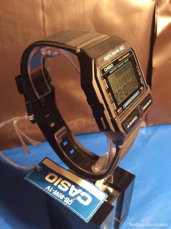 Relojes - Casio: RELOJ CASIO DB 80 ¡¡ DATA - BANK !! VINTAGE ¡¡NUEVO!! (VER FOTOS) - Foto 3 - 120034719