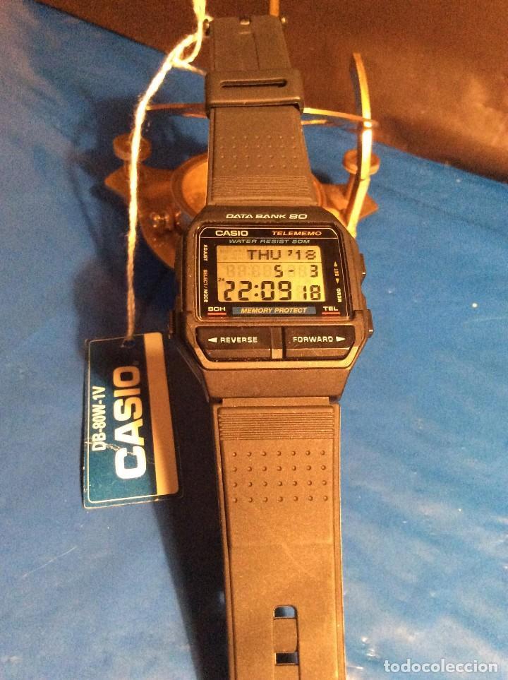 Relojes - Casio: RELOJ CASIO DB 80 ¡¡ DATA - BANK !! VINTAGE ¡¡NUEVO!! (VER FOTOS) - Foto 4 - 120034719