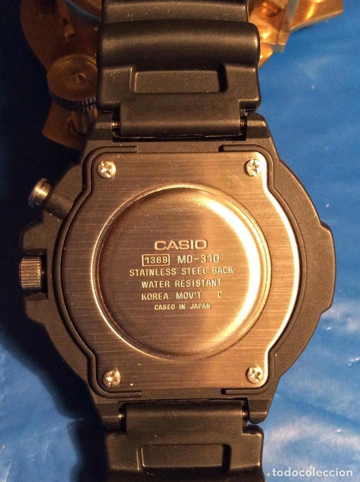 Relojes - Casio: RELOJ CASIO MD 310 ¡¡¡ AUTOLIGHT-SWITCH !!! VINTAGE ¡¡NUEVO!! (VER FOTOS) - Foto 6 - 177199785