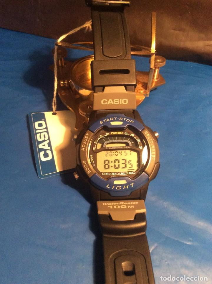 Relojes - Casio: RELOJ CASIO W 729 HF B ¡¡¡ SPORT !!! VINTAGE ¡¡NUEVO!! (VER FOTOS) - Foto 3 - 120565439