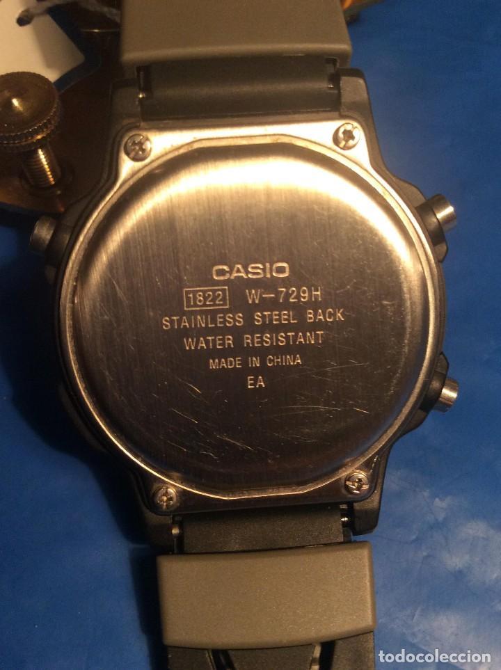 Relojes - Casio: RELOJ CASIO W 729 HF B ¡¡¡ SPORT !!! VINTAGE ¡¡NUEVO!! (VER FOTOS) - Foto 5 - 120565439