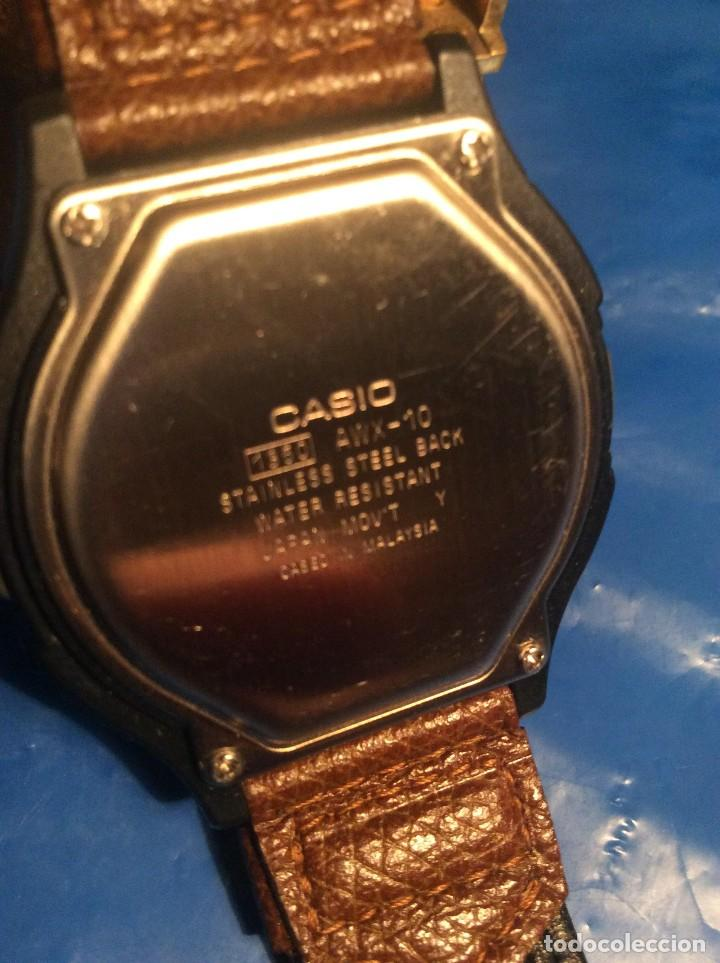 Relojes - Casio: RELOJ CASIO AWX 10 ¡¡¡ TWIN-CEPT !!! VINTAGE ¡¡NUEVO!! (VER FOTOS) - Foto 6 - 120569171