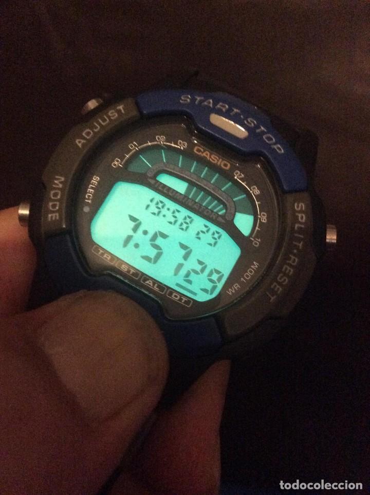 Relojes - Casio: RELOJ CASIO W 729 HF B ¡¡¡ SPORT !!! VINTAGE ¡¡NUEVO!! (VER FOTOS) - Foto 2 - 120565439