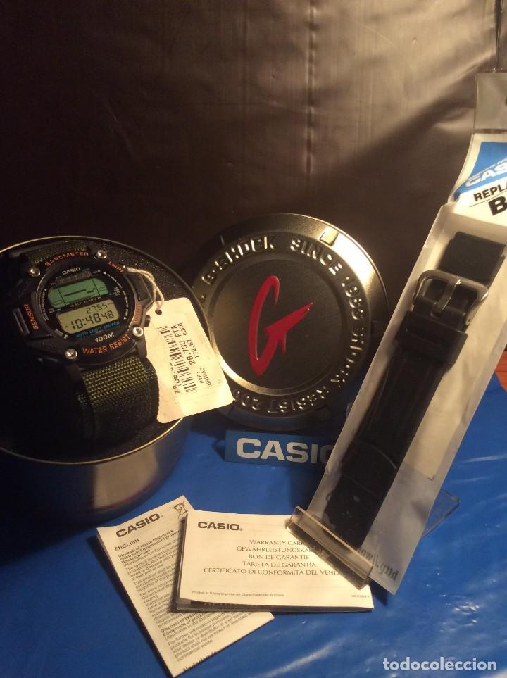Relojes - Casio: RELOJ CASIO PRT 20 ¡¡¡ PRO TREK !!! VINTAGE ¡¡NUEVO!! (VER FOTOS) - Foto 6 - 129187172