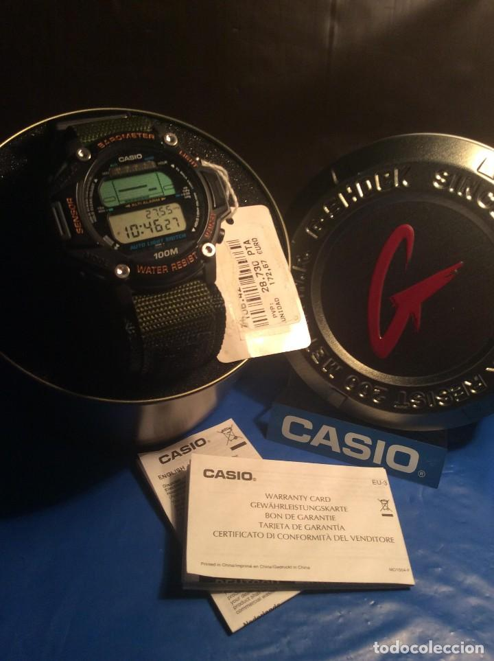 Relojes - Casio: RELOJ CASIO PRT 20 ¡¡¡ PRO TREK !!! VINTAGE ¡¡NUEVO!! (VER FOTOS) - Foto 9 - 129187172