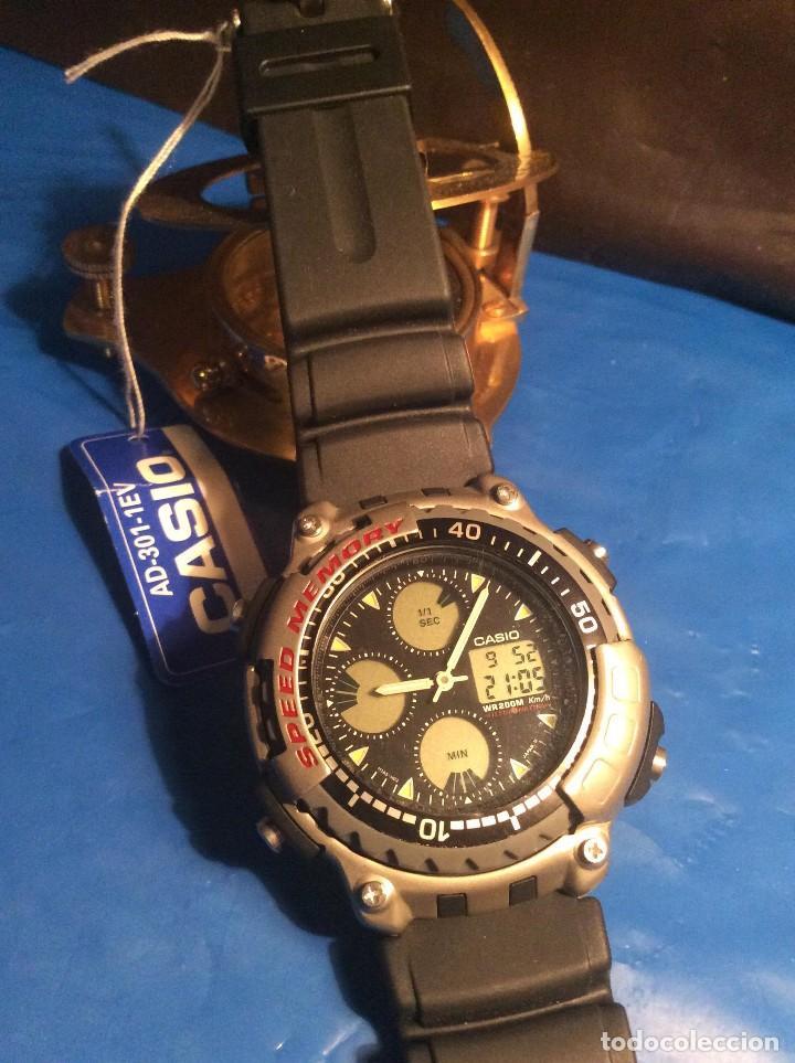 e3cd7ea32195 reloj casio ad 301 e ¡¡¡ speed memory !!! vinta - Comprar Relojes ...