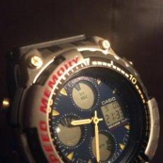 Relojes - Casio: RELOJ CASIO AD 301 B ¡¡¡ SPEED MEMORY !!! VINTAGE ¡¡NUEVO!! (VER FOTOS). Lote 120583099
