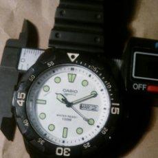 Relojes - Casio: RELOJ CASIO DIVER DATE-DAY WR 100 M. Lote 120661078
