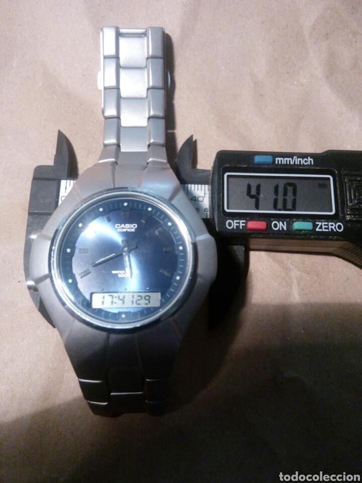 RELOJ CASIO EDIFICIE DIGI-ANA ESTUPENDO ESTADO Y PRECIOSO CON PULSERA ORIGINAL PURA ELEGANCIA (Relojes - Relojes Actuales - Casio)