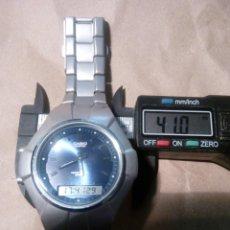Relojes - Casio: RELOJ CASIO EDIFICIE DIGI-ANA ESTUPENDO ESTADO Y PRECIOSO CON PULSERA ORIGINAL PURA ELEGANCIA. Lote 120668254