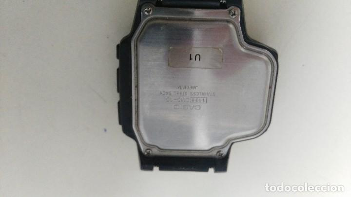 Relojes - Casio: antiguo reloj casio modelo 1138 cmd 10 funcionando - Foto 3 - 121235455