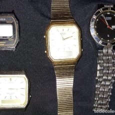 Relojes - Casio: LOTE DE RELOJES CITIZEN. Lote 121873975