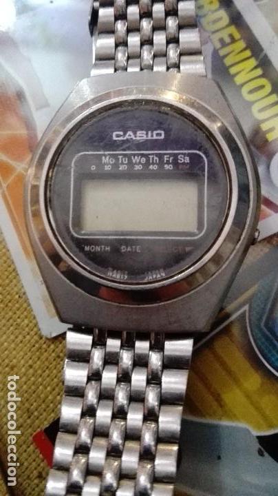 Relojes - Casio: unico muy raro casio casiotron r19 funciona - Foto 2 - 122256451