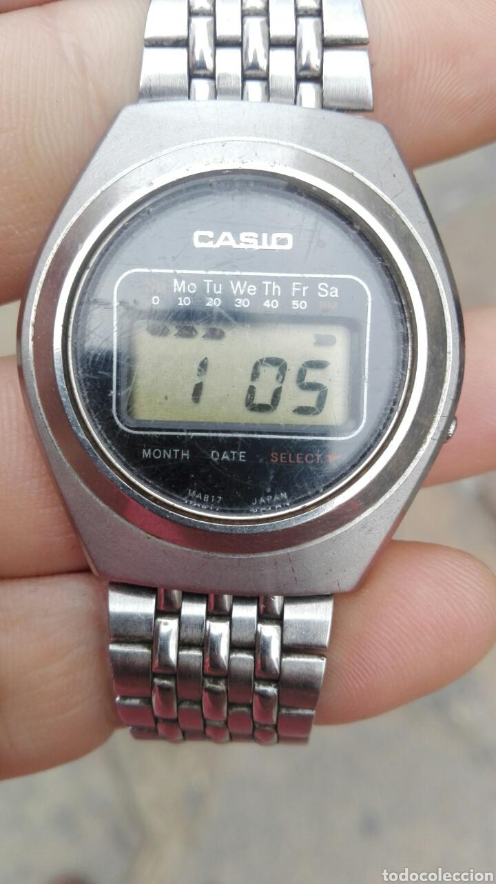 UNICO MUY RARO CASIO CASIOTRON R19 FUNCIONA (Relojes - Relojes Actuales - Casio)