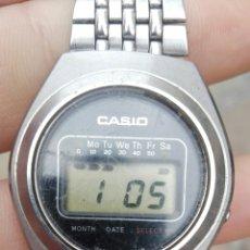 Relojes - Casio: UNICO MUY RARO CASIO CASIOTRON R19 FUNCIONA. Lote 122256451