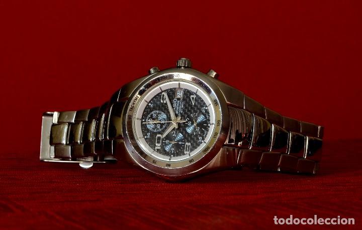 27febddbd801 5 fotos RELOJ DE PULSERA CASIO EDIFICE CHRONOGRAPH WR100M EF-501 10 BAR ( Relojes - Relojes ...