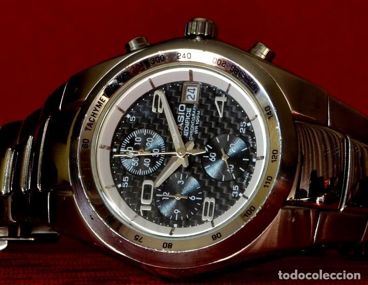 0906b76d9652 Relojes - Casio  RELOJ DE PULSERA CASIO EDIFICE CHRONOGRAPH WR100M EF-501  10 BAR