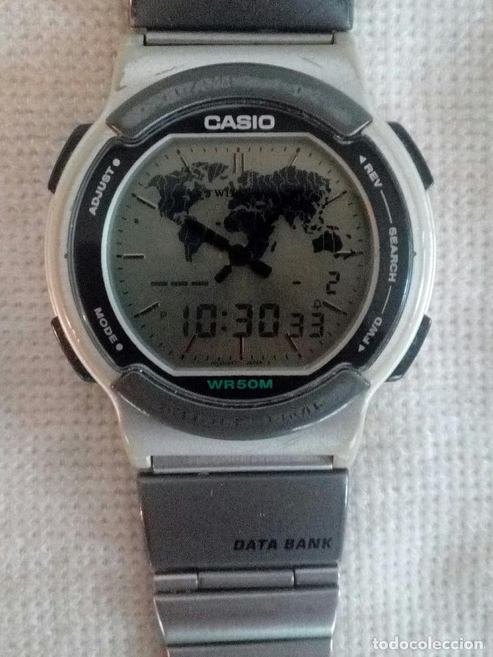 ae9da9ebe5c7 Reloj casio digital vintage twincept data bank - Sold through Direct ...