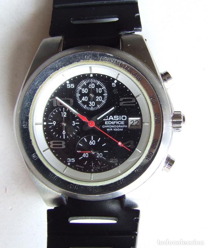 d7b5eab3aa2c 4 fotos RELOJ CASIO EDIFICE CHRONOGRAPH WR 100 M 2328 EF-501 10 BAR  FUNCIONANDO (Relojes ...