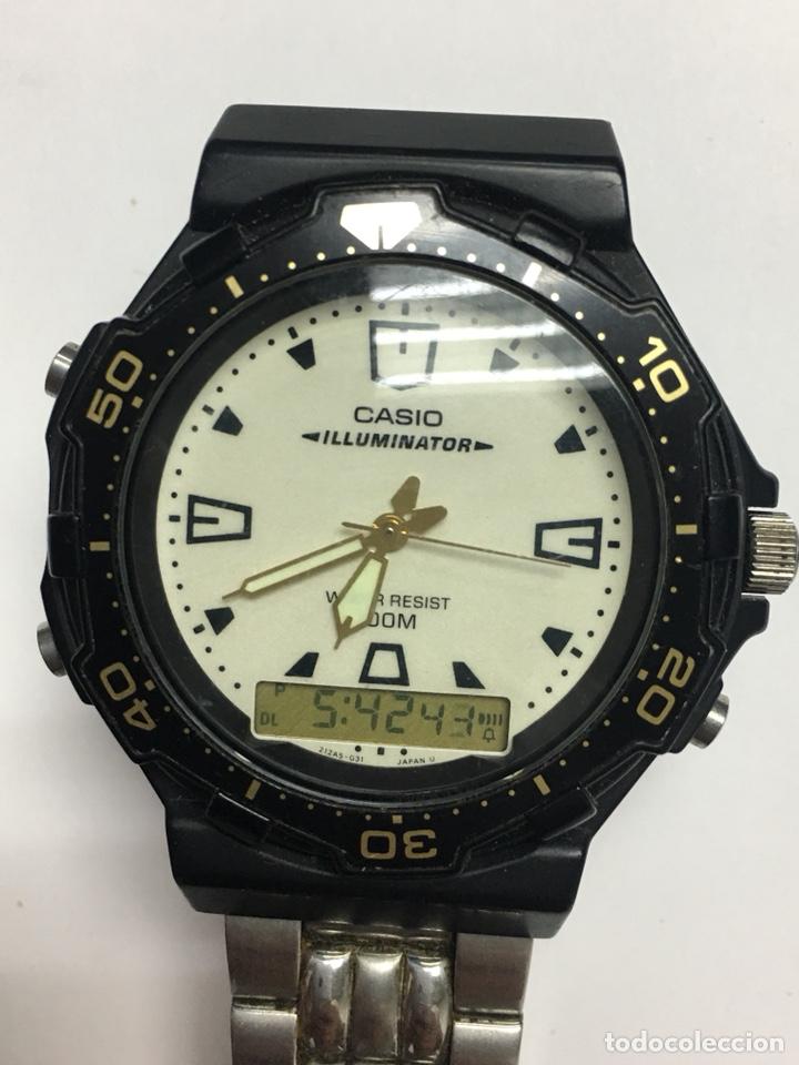 34c76415f0e4 5 fotos RELOJ CASIO ILUMINATOR 100M RESIST AQ- 130W COMO DE BUCEO (Relojes  - Relojes Actuales ...