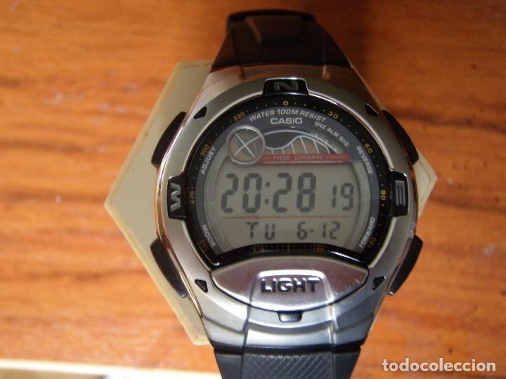 09acaac414a8 reloj digital casio w-753 mareas fase lunar bru - Comprar Relojes ...