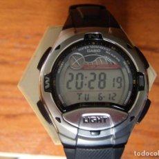 Relojes - Casio: RELOJ DIGITAL CASIO W-753 MAREAS FASE LUNAR BRUJULA... COMO NUEVO. Lote 124558127