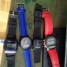 Relojes - Casio: RELOJ-4 RELOJES CASIO. Lote 124712810