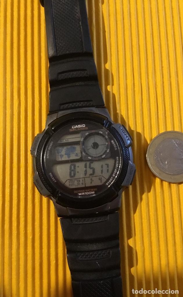 RELOJ CASIO DIGITAL GRANDE 30 MM DE DIÁMETRO FUNCIONANDO PERFECTO (Relojes - Relojes Actuales - Casio)