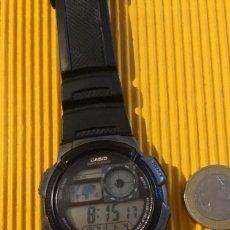 Relojes - Casio: RELOJ CASIO DIGITAL GRANDE 30 MM DE DIÁMETRO FUNCIONANDO PERFECTO. Lote 126411247