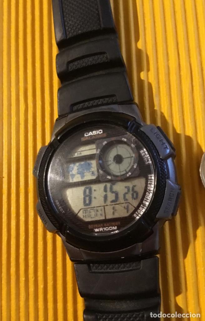 Relojes - Casio: Reloj Casio digital grande 30 mm de diámetro funcionando perfecto - Foto 2 - 126411247