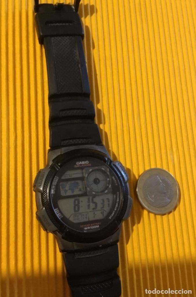 Relojes - Casio: Reloj Casio digital grande 30 mm de diámetro funcionando perfecto - Foto 3 - 126411247