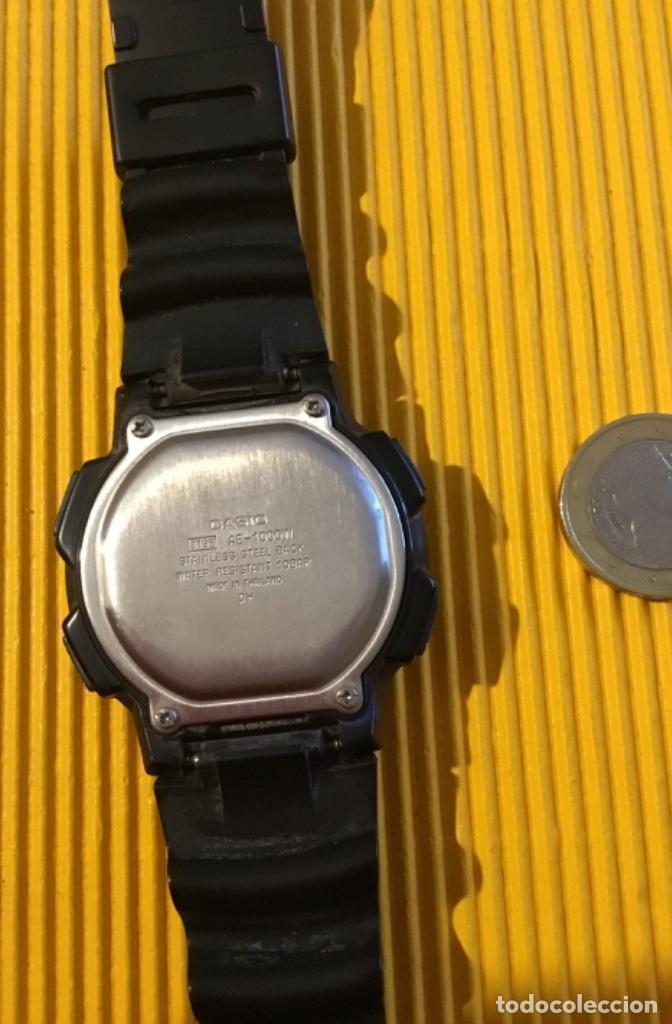 Relojes - Casio: Reloj Casio digital grande 30 mm de diámetro funcionando perfecto - Foto 4 - 126411247