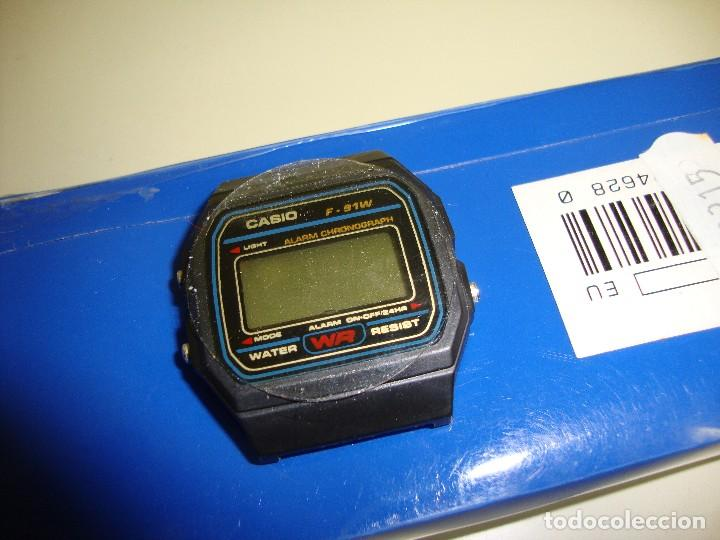 Relojes - Casio: 918- ANTIGUO RELOJ CASIO SIN CORREA CHINA F 91 W WATER RESISTANT NEW OLD STOCK - Foto 2 - 129415863