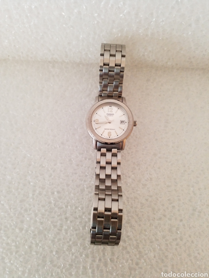 10e1b51b97c5 Relojes - Casio  Reloj Casio Quartz Water Resist 2725 LTP. 1176 S.T. Steel  Back