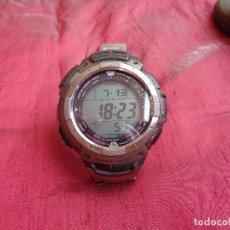 Relojes - Casio: CASIO PRO TRECK PGR80T TITANIO SOLAR. Lote 128048255