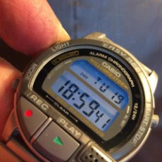 Relojes - Casio: RELOJ CASIO A V1 ¡¡¡ GRABADOR DE VOZ !! VINTAGE ¡¡NUEVO¡¡ VER FOTOS.. Lote 128117759