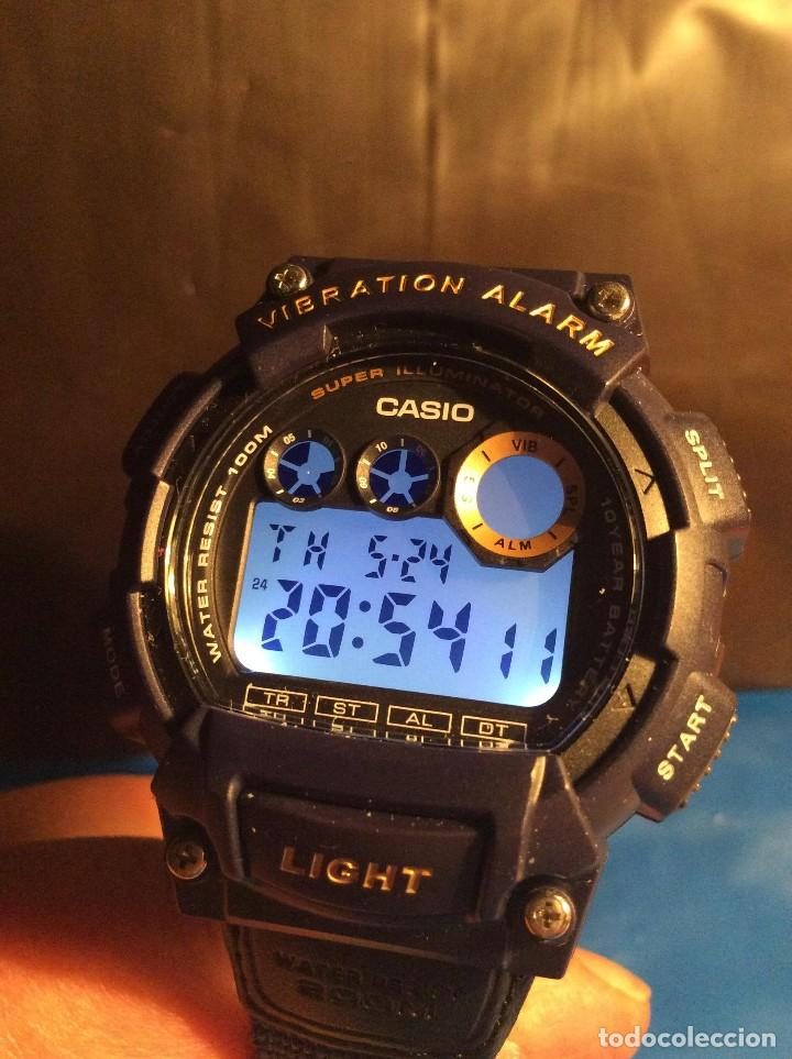 Relojes - Casio: RELOJ CASIO W 735 ¡¡ VIBRATION ALARM !! ¡¡NUEVO¡¡ ( VER FOTOS ) - Foto 5 - 128236803