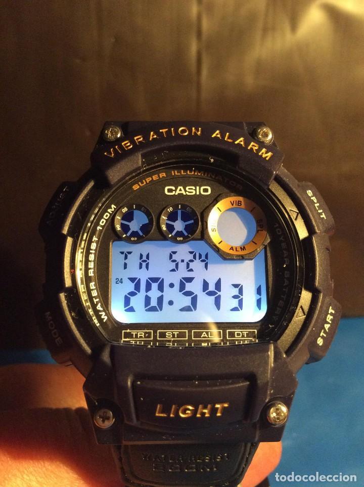 RELOJ CASIO W 735 ¡¡ VIBRATION ALARM !! ¡¡NUEVO¡¡ ( VER FOTOS ) (Relojes - Relojes Actuales - Casio)